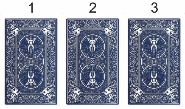 Metodo delle tre carte con i tarocchi dell'amore