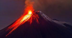 sognare eruzione vulcano