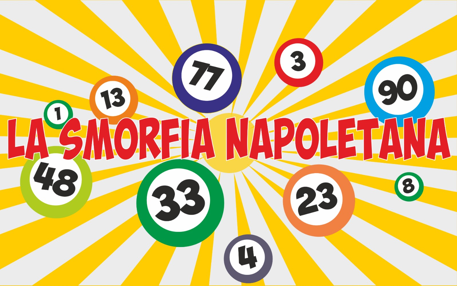 Smorfia Napoletana dal numero 81 I fiori al numero 90 La paura