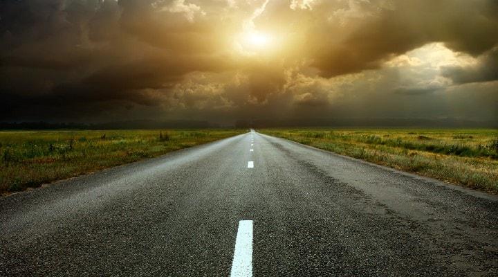 sognare una via